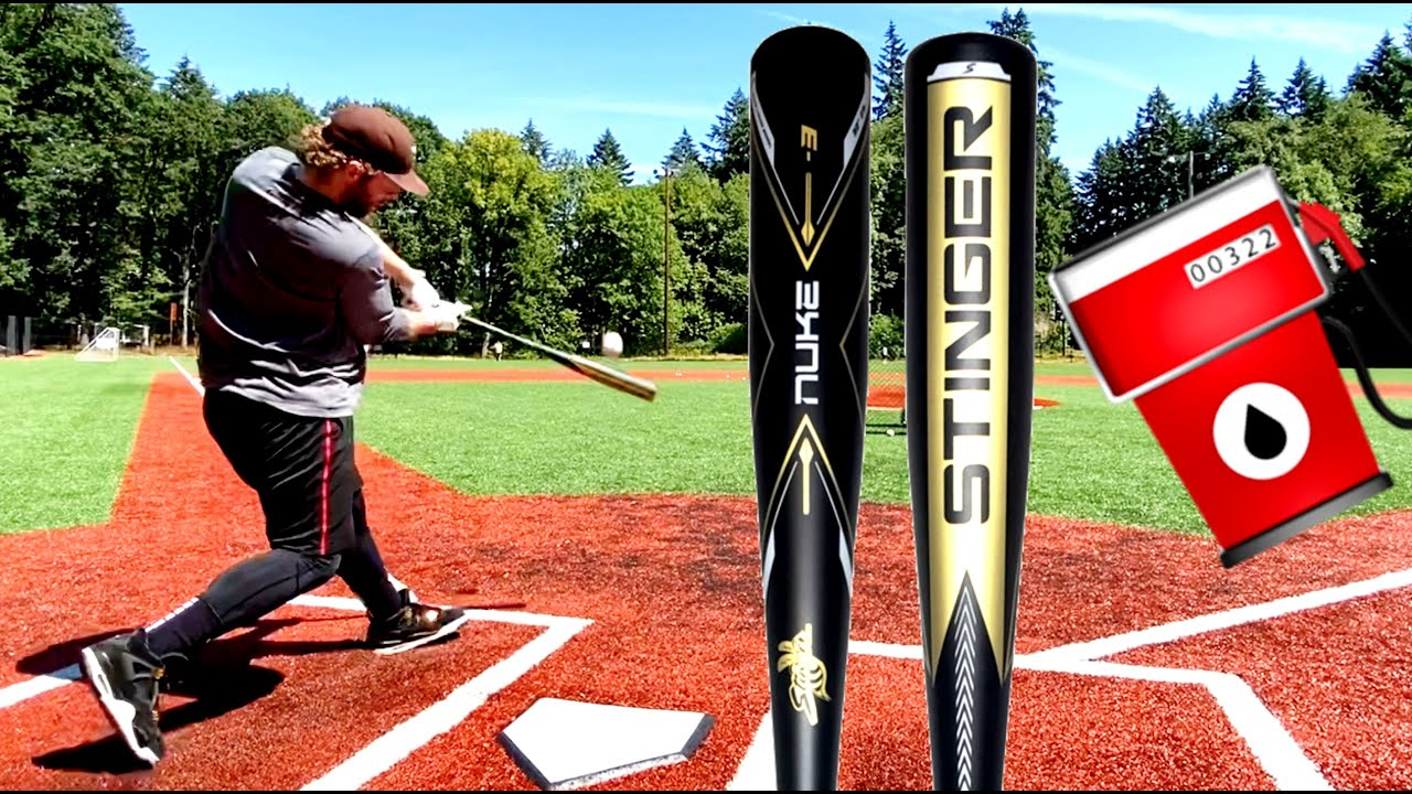 Hitting with the Stinger Nuke - BBCOR Baseball Bat Reviews