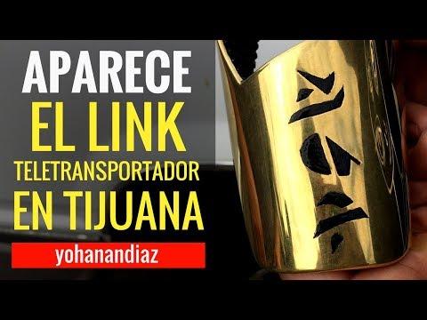 """Aparece el link """"TELETRANSPORTADOR"""" en Tijuana, México. #InsólitaExperiencia"""