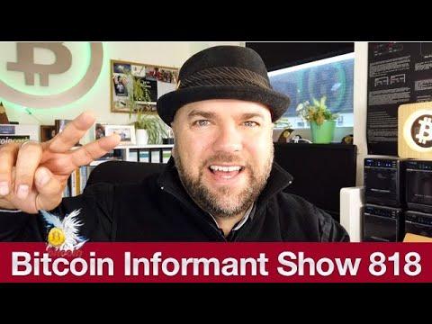 #818 Ein Bitcoin $1300, Gericht beschlagnahmt 52 Millionen Euro in BTC & Schweden E Krone 2