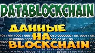 Datablockchain ICO Заработок в ICO 2018 DBC токен Заработать в интернете криптовалюту