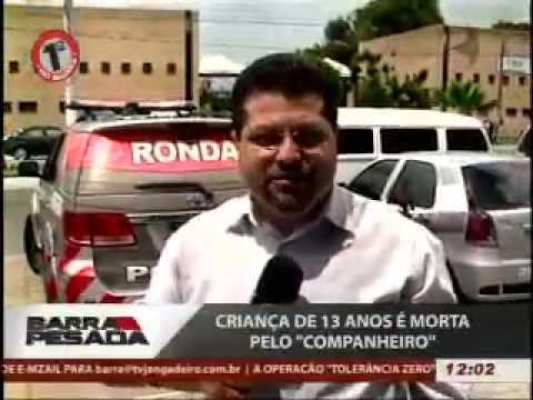 TV JANGADEIRO - BARRA PESADA - CRIANÇA É MORTA PELO NAMORADO