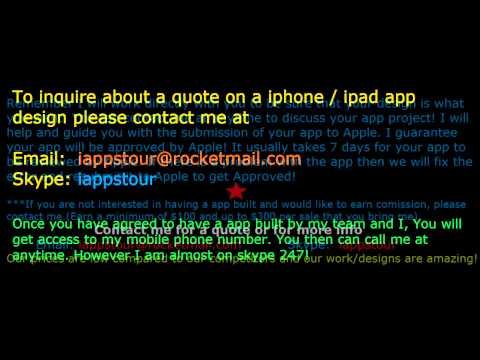 Make money at home . Mobile app sells . we make custom iphone and ipad apps . need a job?