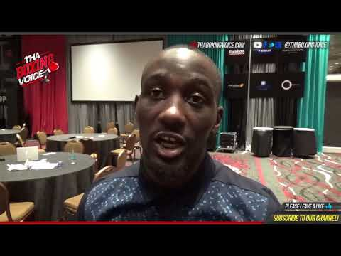 TERENCE CRAWFORD: on fighting Errol Spence and Keith Thurman