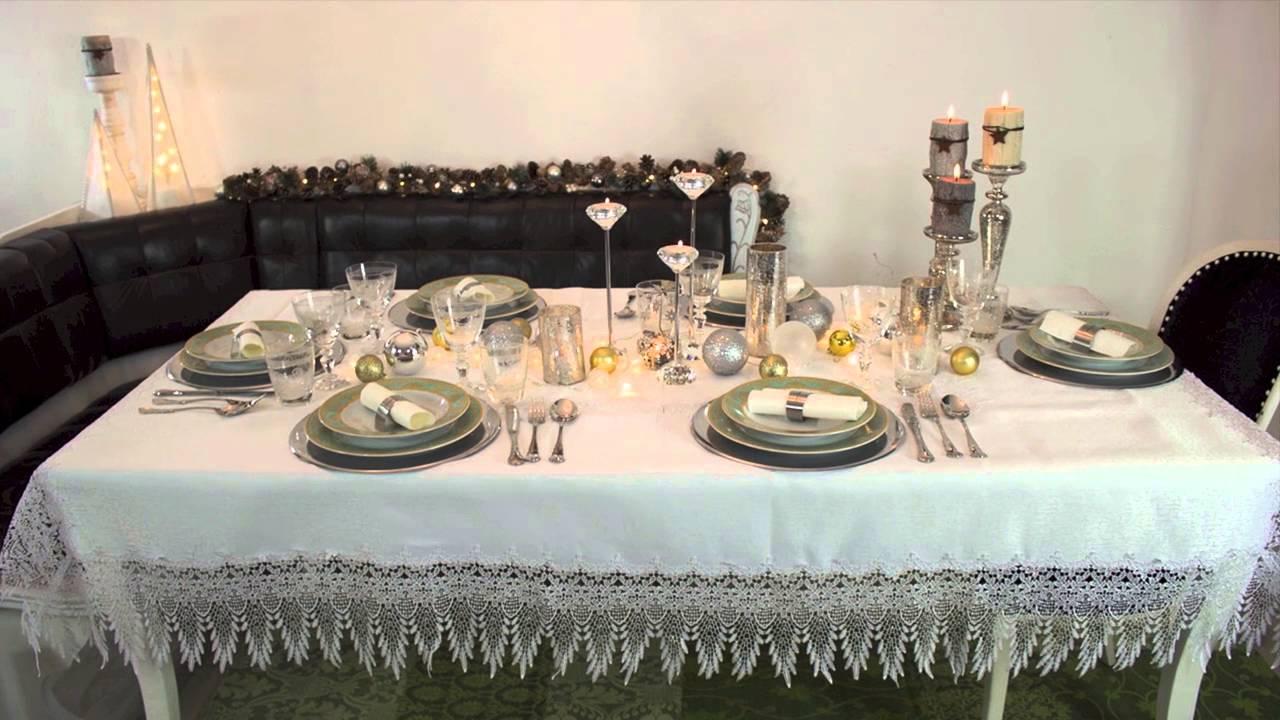 Tischdekoration Fur Weihnachten Zeitlos Elegant Und Modern Youtube