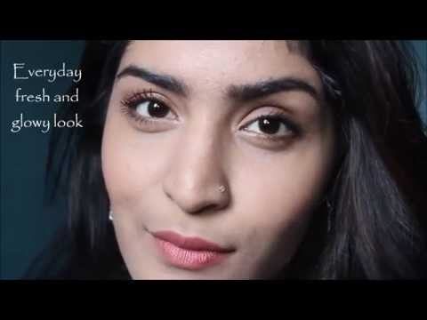 Everyday Fresh & Glowy Makeup Tutorial for Indian Skin