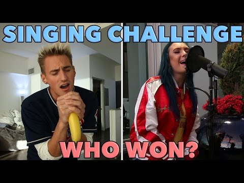 Thumbnail: SINGING CHALLENGE! SHE'S AMAZING!