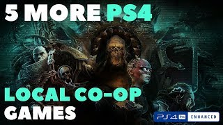 5 More PS4 Local Co-op Games