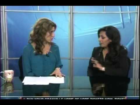 Tulare Union High School partners with Gabriella van Rij in anti bully program.Alex Delgado KSEE/NBC