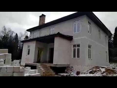 Видео обзор дома построенного по индивидуальному проекту в Андрейково