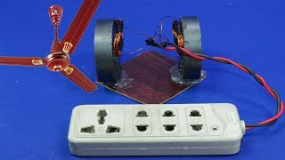 Free Electricity Homemade 3.7v To 220 Volt Free Energy Generator New 2018