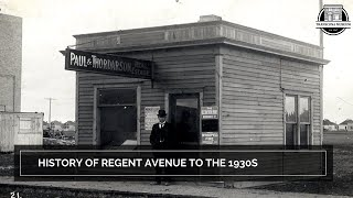Small Talk Tuesday: History of Regent Avenue to 1930's