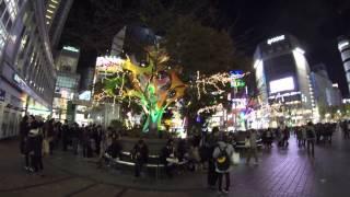 Памятник Хатико в TOKYO район станции Сибуя