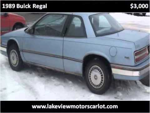 1989 buick regal used cars elkhart in youtube