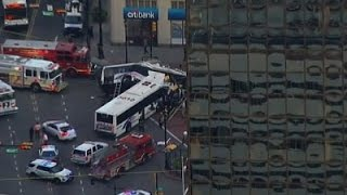 NJ Bus Collision Kills One, Injures 19