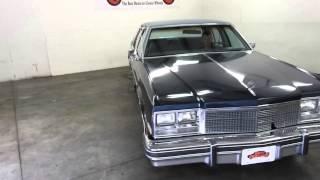 DustyOldCars.com 1979 Buick Electra Sedan Blue SN 1092