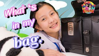 What 's in my bag?  ...