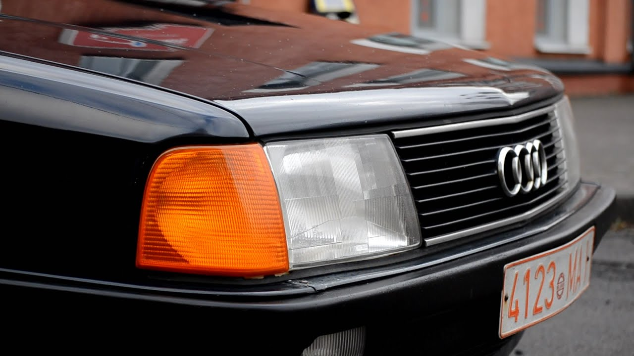 Передние рычаги Audi 100 c3 (test MOOG and MEYLE) - YouTube