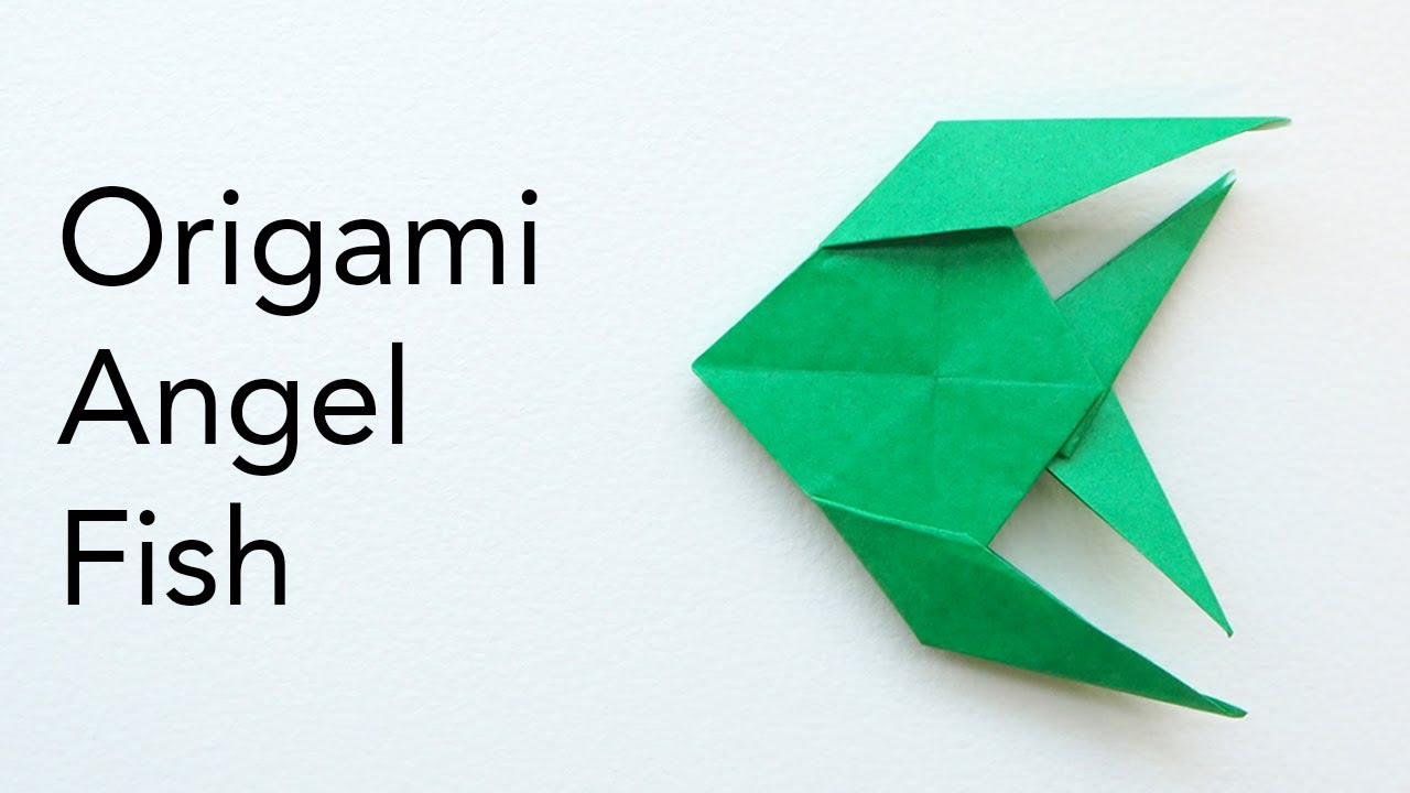 Step By Step Instructions How To Make Origami An Angelfish. Stock ...   720x1280
