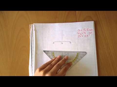 Parallelogramm konstruieren - Geometrie Übungen - YouTube