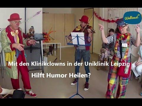 Bild & Ton - Mit den Klinikclowns in der Uniklinik Leipzig: Hilft Humor Heilen?