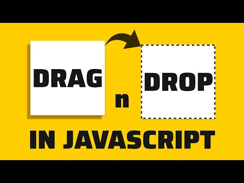 Easy Drag N Drop With JavaScript - How To Code Tutorial