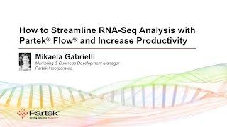 RNA Seq Analysis with Partek Flow