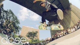 Paul Rodriguez, Eric Koston, Stefan Janoski At Go Skateboarding Day NYC 2012