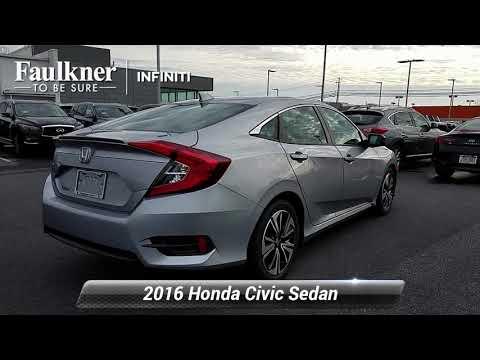 Used 2016 Honda Civic Sedan EX-L, Mechanicsburg, PA GE215778
