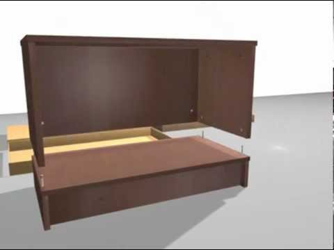 ikea effektiv montageanleitung teil 11 youtube. Black Bedroom Furniture Sets. Home Design Ideas