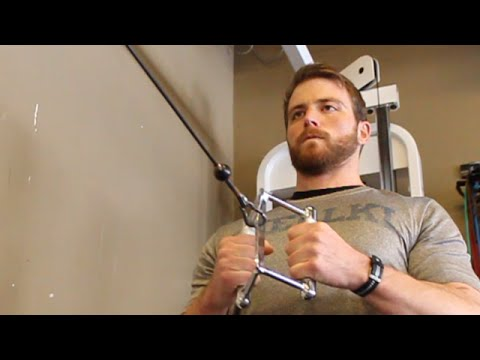 Physical Exercise - Full Body Cable Machine Workout for Building Muscle