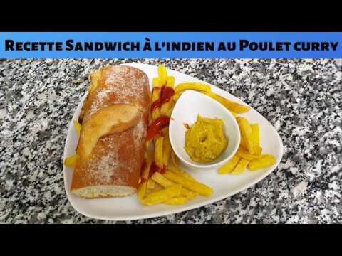 recette-sandwich-à-l'indien-au-poulet-curry-|-recette-pour-grands-et-petits-avec-top-gaming-videos