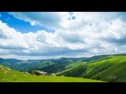 Time-lapse photography at Sky Grassland, Hebei Province, China, 4K