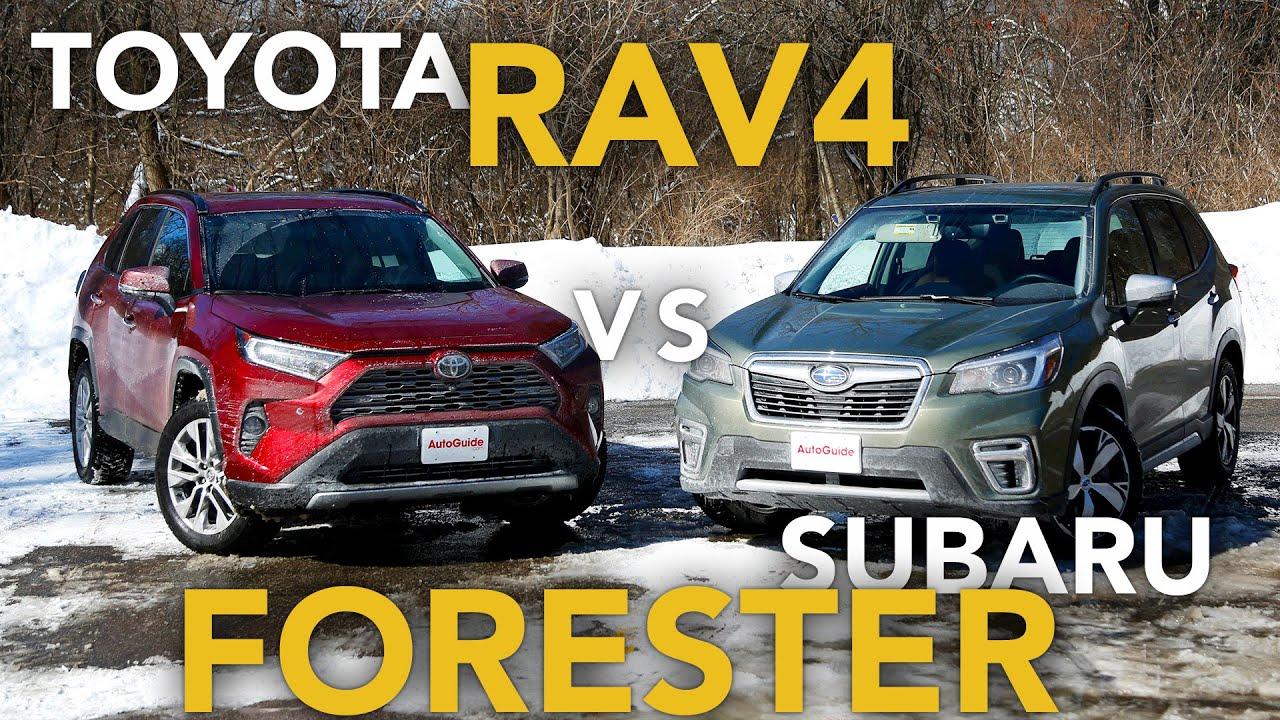 2019 toyota rav4 vs 2019 subaru forester
