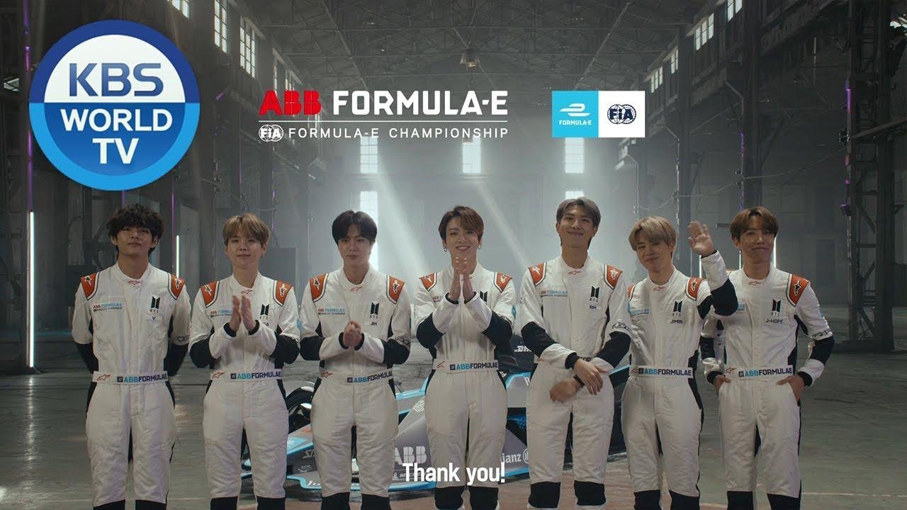 BTS x Formula E : 2020년 새해 인사 - YouTube
