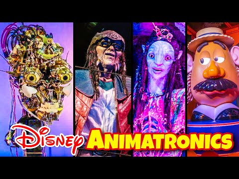 Top 10 Amazing Disney Animatronics at Walt Disney World