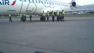 Push-back Manuel CRJ1000 GVA