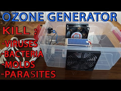 How to make OZONE GENERATOR, AIR CLEANER-OZONER