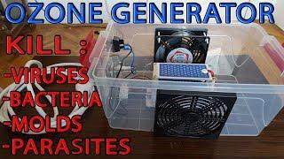 How to make OZONE GENERATOR, AIR CLEANER-OZONER
