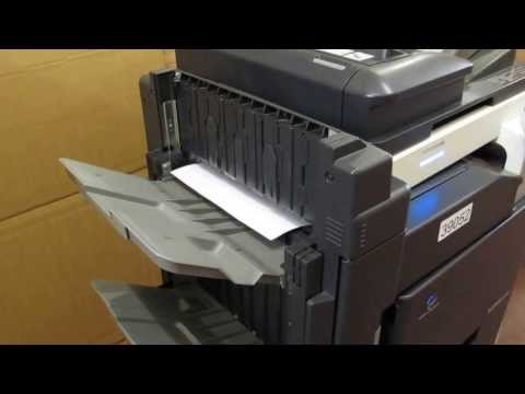 Konica Minolta Bizhub C253 Colour Photocopier Copier Printer E-mail + finisher