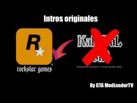 DESCARGAR INTROS ORIGINALES DE GTA SAN ANDREAS   GTA MODLOADERTV