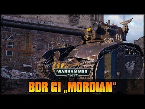 World of Tanks - Live: BDR G1 mit Mordian WH40k Skin [ deutsch 🐄 gameplay ]
