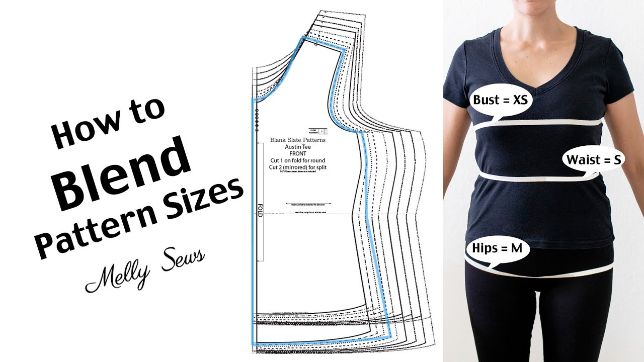 How to Blend Pattern Sizes
