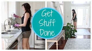 Speed Cleaning My House and Getting Stuff Done | Cleaning Motivation