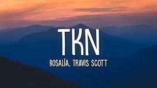 ROSALÍA, Travis Scott - TKN (Lyrics)