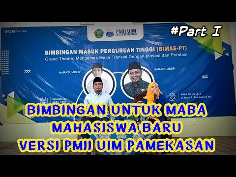 Bimbingan Masuk Perguruan Tinggi (BIMAS-PT) PMII Komisariat UIM Pamekasan. #Part I