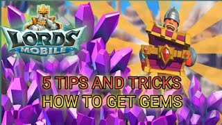 How to make gems with efficiency