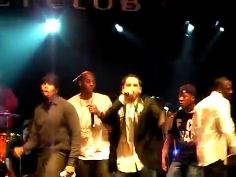 Akon - Beautiful live w acapella @ grammy afterparty Colby O Donis Kardinal Offishall 020809