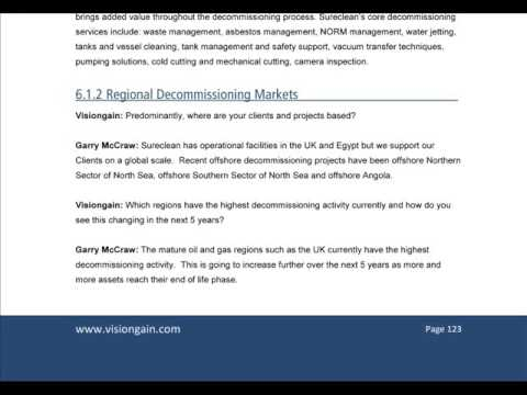 Offshore Oil & Gas Decommissioning Market Report 2015-2025