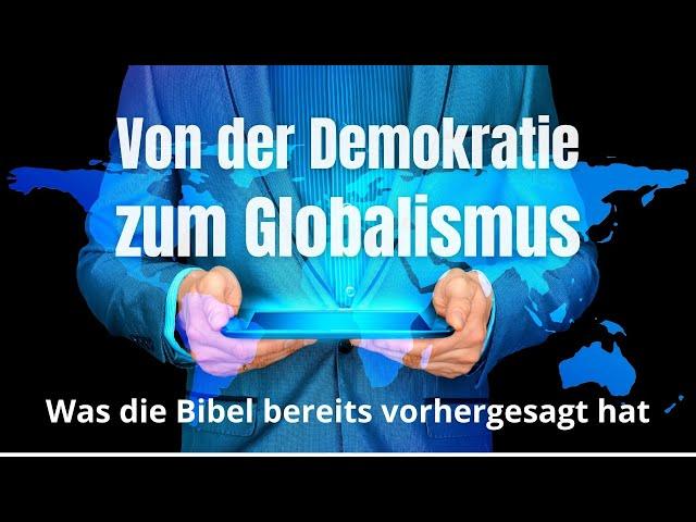 Von der Demokratie zum Globalismus - Was die Bibel vorhergesagt hat | Tobias Widmer | HALLELUJAH TV