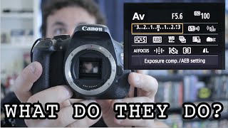 ISO / Shutter Speed / F-stop : What are they?